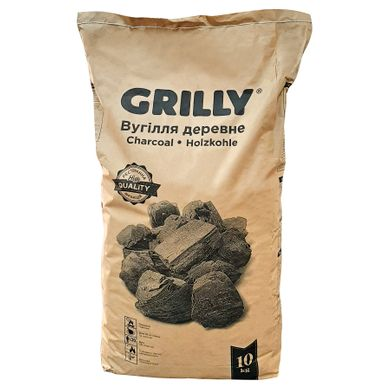 "Charcoal ""GRILLY"", 10 kg"